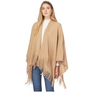 Sweaters - camel colored Ribbed coverup